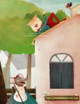 vain little mouse and naughty cat by cocinando-colores