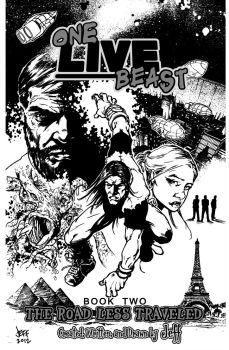 Inks for One Live Beast cover by OneLiveBeast666