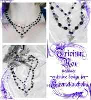 Trivium Nox necklace by redLillith
