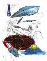 Spaceship Concept: Retribution by Jochimus
