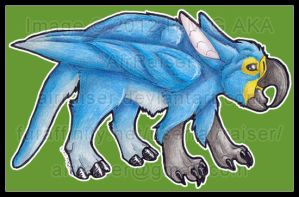 Gryphon  of sorts 2013 by AirRaiser