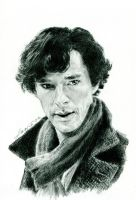 Benedict as Sherlock II by Lanka-ultra