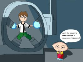 Family Guy Ben 10 Crossover by Mione1