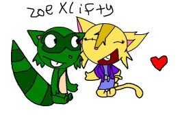 :AT:Zoe and Lifty by pikichu99