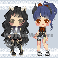 LittleDevils Adoptables [OPEN-price changed] by vickiehime