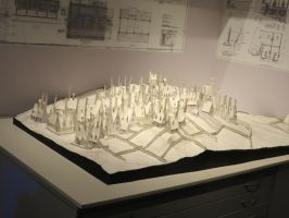 model plan of hogsmeade harry potter by Sceptre63