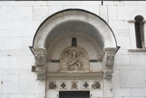 Lucca church arch by enframed