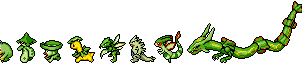 Green Pokemon Sprite Divider