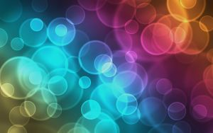 Colourful Bokeh Background by Haidock