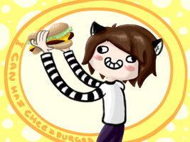 I Can Haz CheezBurger by ThatPuggy