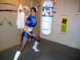 Chun Li: Welcome by cosplaynut
