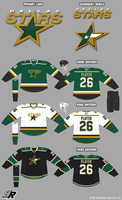 Wildwing64's NHL: Dallas Stars by wildwing64