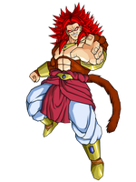 LSSJ4 Broly V1 by brolyeuphyfusion9500