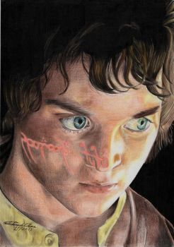 Frodo by oliverrenan