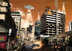 Auckland Attacked by akiwi