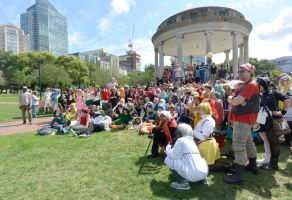 2014 Cosplay Picnic On the Common, Group Photo 2 by Miss-Tbones