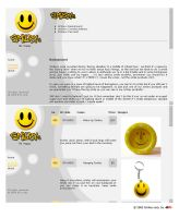 Online shop Smiley corp. by B21