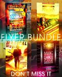 BIGBANG FLYER BUNDLE 4IN1 PSD by retinathemes