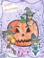 Hallow's Eve witches by Nicktoons4ever