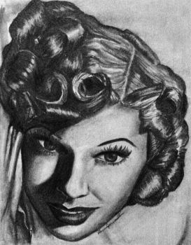 Lucille Ball by LaurenJohnson94