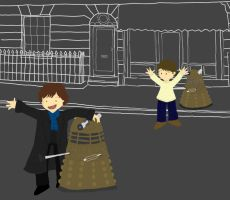 Sherlock and the Daleks by whosname