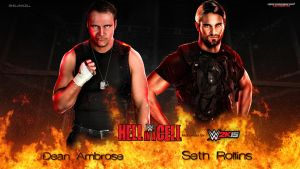 Hell In A Cell - Dean Ambrose vs. Seth Rollins by MarcusMarcel