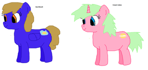 More of my pony ocs by fuzzlz123