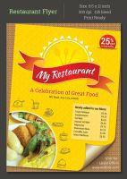Restaurant Flyer by khatrijiya