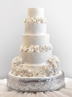 Grand Wedding Cake by cococakes