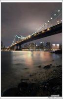 New York night view by szczepanek