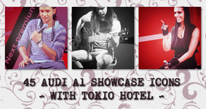 Icons: Tokio Hotel set7 by Mariesen