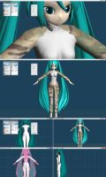MQO - WIP - MultiCam Miku - 02-03-2012 by CrazyDave55811