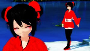 MMD Pucca by Aisuchuu