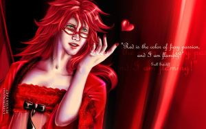 Grell R- Shitei Wallpaper 2 by TsukiNoKishi