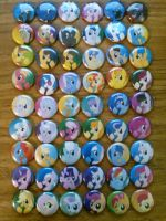 Mlp buttons are real!! by SweetTextArt