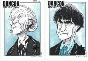 Hartnell and Troughton by Rashomonchb