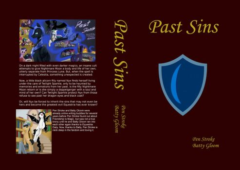 Past Sins cover art for Hardcover 6x9 by TheBig3