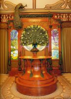 Alphonse Mucha Room 4 by Vinanti
