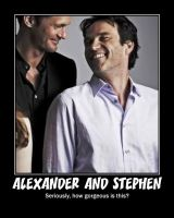 Alexander and Stephen by Becca5002