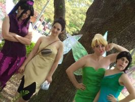 Funny Face Fairies by lastchance91