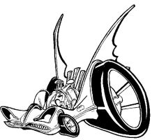 BatMobile Caricture by tokuga
