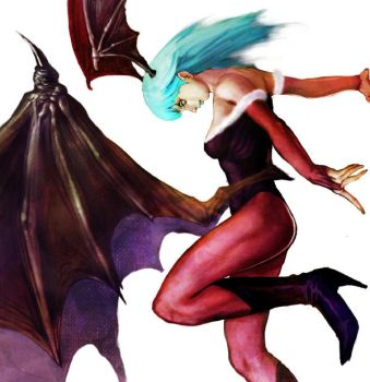 morrigan by Kaizy