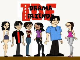 Total drama friends xP by kagome-misato
