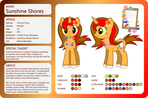OC Sheet-Sunshine Shores by outlaw4rc