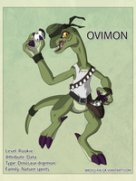 Ovimon by Shoyu-Rai