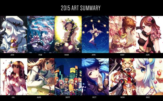 2015 Art Summary by Rosuuri