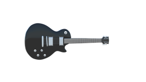 Gibson Les Paul 3D model by falceeffect