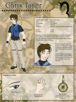 DS - Chris Sheet by InnocentiaSanguinis