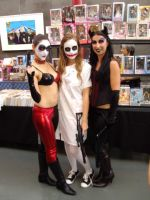 Harley Quinn with Nurse Joker and Catwoman by xMysticDreamer
