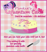 Pinkie's Quantum Cake! by Eagle1Division